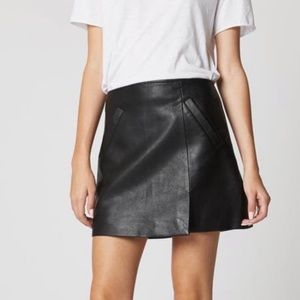 BLANK NYC LATCH ON FAUX LEATHER SKIRT ♥️IN STORES